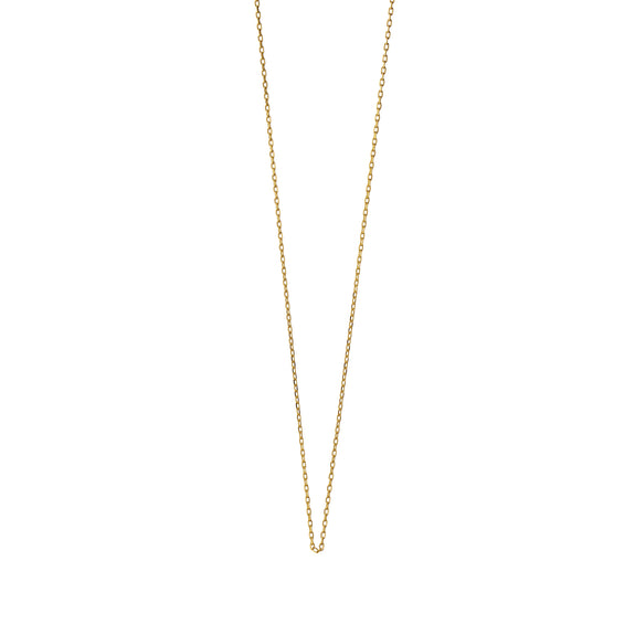 "18K Yellow Gold ""Jamie"" Delicate Diamond Cut Chain"