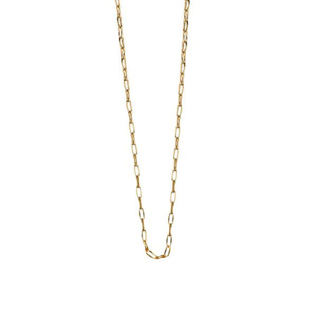 18K Yellow Gold Chain, 30""