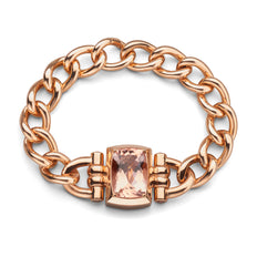 Limited Open Edition Rose Gold Morganite Bracelet