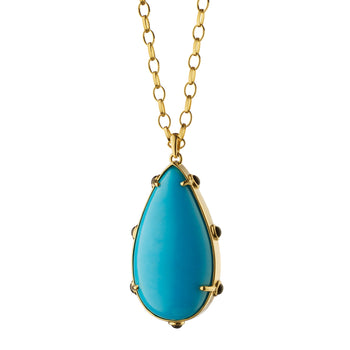 Limited Open Edition Turquoise Pendant