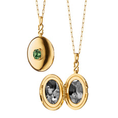 Limited Open Edition Demantoid Locket