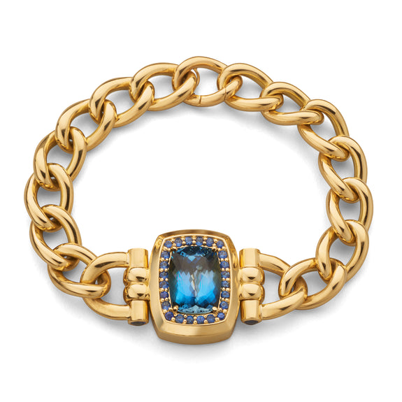 Limited Open Edition Aquamarine Bracelet