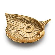 """Wisdom"" Beauty Table Charm a decorative piece in brass"