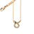 "Diamond Critter Snake ""Never Fear"" Charm Necklace"