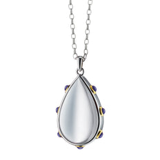 Two-Toned Teardrop Pendant