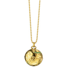 """Inner Beauty"" Venus Planet Charm Necklace"