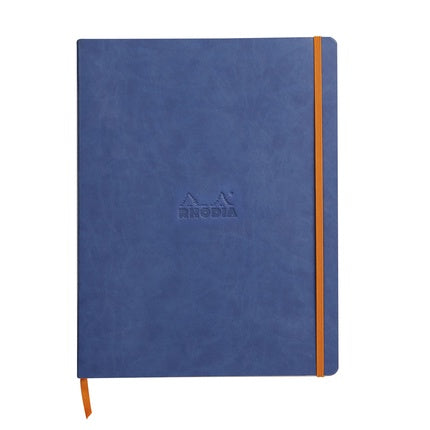 Rhodiarama Lined Soft Cover Notebook A4+