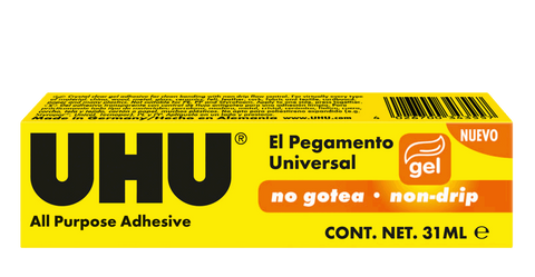 UHU 043435 All Purpose Adhesive Gel 31ml