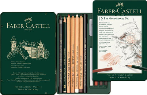 Pitt Monochrome Small Sketching Set (Special Offer)