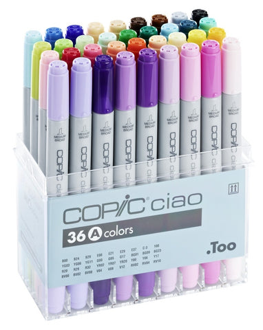 Copic Ciao 36 Pen Set A (Special Offer)