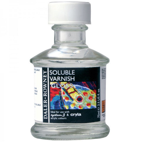 Daler Rowney Acrylic Soluble Varnish