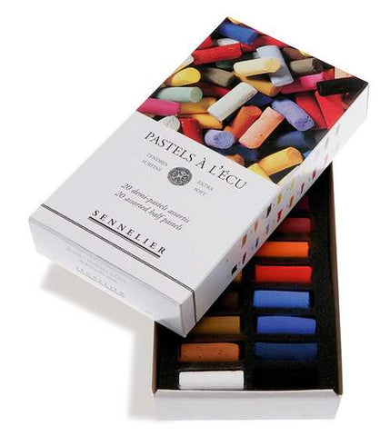 Sennelier 1/2 Stick Extra Soft Pastels Assorted