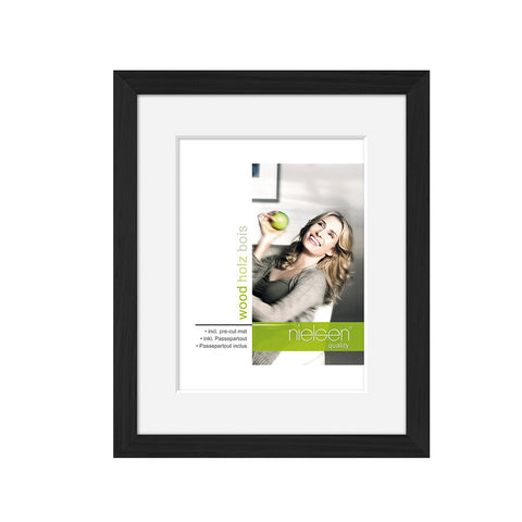 Nielsen Apollo Wood Readymade Frame Black