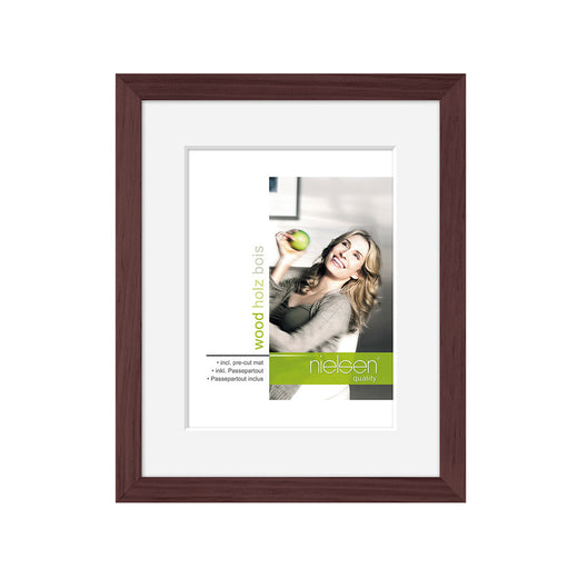 Nielsen Apollo Wood Readymade Frame Dark Brown
