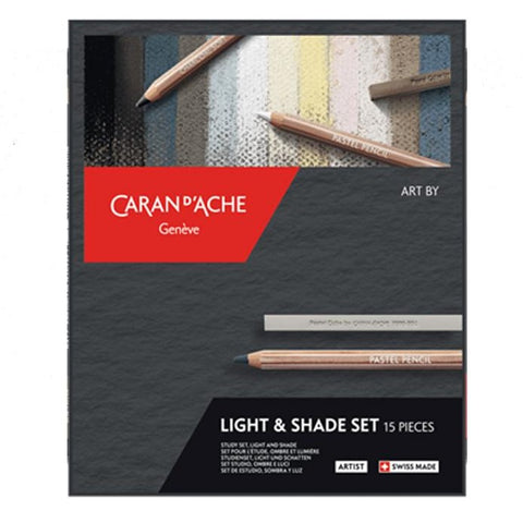 Caran D'Ache Light & Shade Set