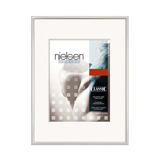 Nielsen Classic Aluminium Metal Readymade Frame Polished Silver
