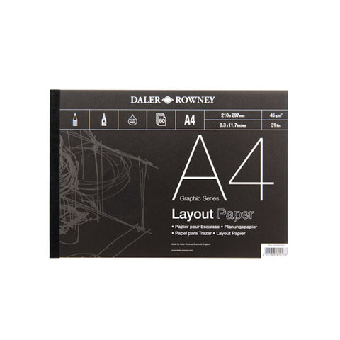 Daler-Rowney Layout Pad 45gsm