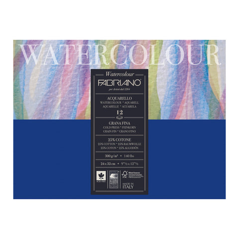 Fabriano Watercolour Pad 300gsm