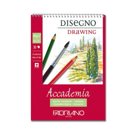 Fabriano Accademia Spiral Pad 200g
