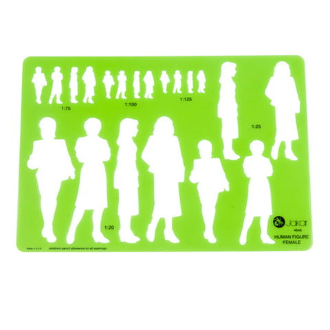 Female Human Figure STENCIL (Special Offer)