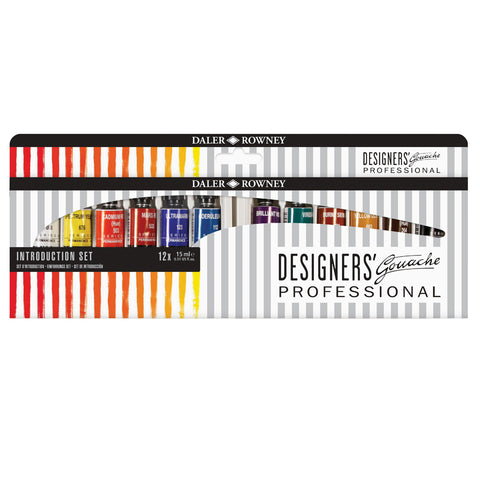 Daler Rowney Designers Gouache Intro Set (Special Offer)