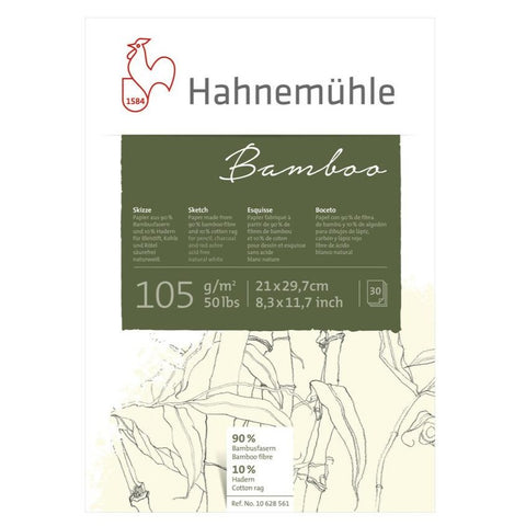 Hahnemuhle Bamboo Sketch Pad 105gsm