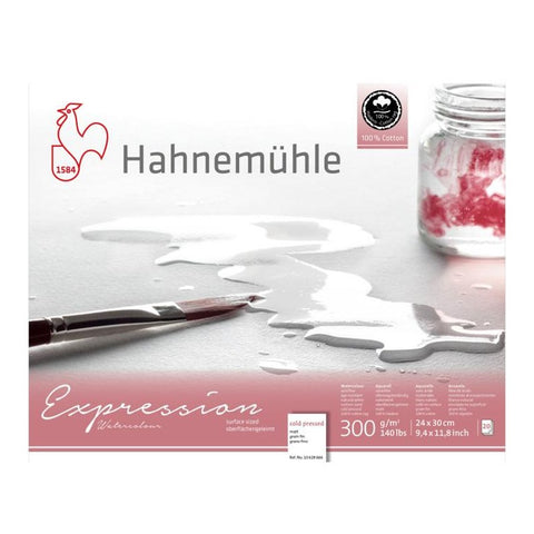 Hahnemuhle Expression Watercolour Block CP 300gsm