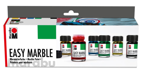 MARABU Easy Marble Set 6 x 15ml
