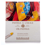Sennelier Oil Pastels 24 Assorted
