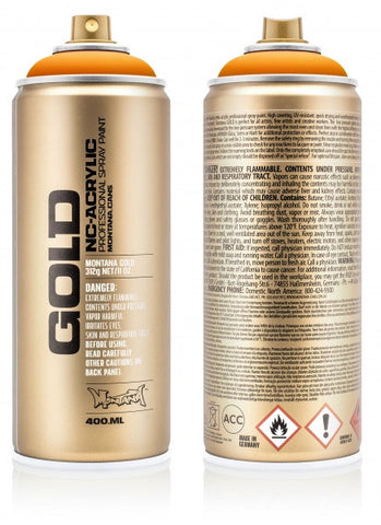 Montana Gold Spray Paint 400ml