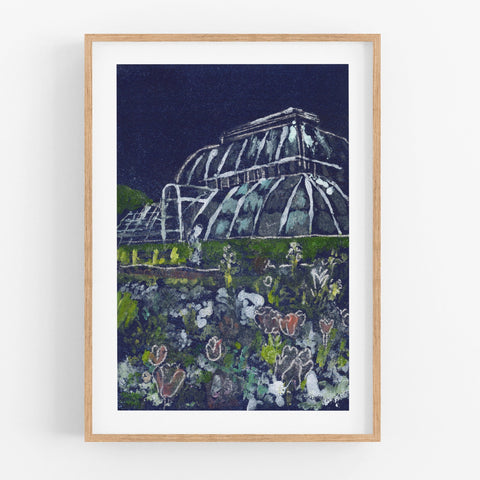 Summer at Kew Gardens Print