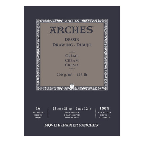 Velin D'Arches Cream Drawing Pad (Special Offer)