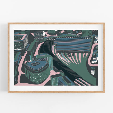 Waterloo Station Print