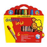 Giotto Bebe Super Large Pencils Set of 6