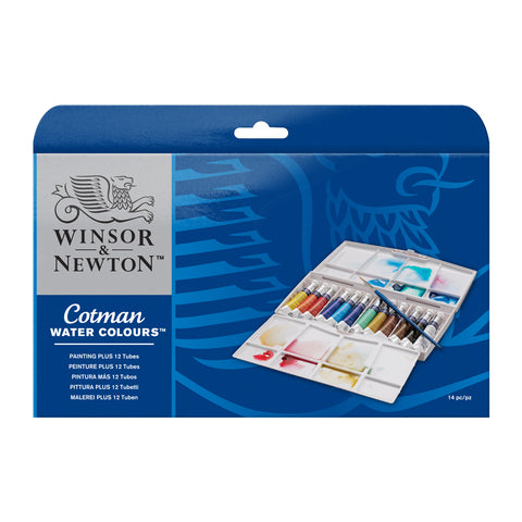 Cotman Watercolour Tube Painting Plus Set (Special Offer)