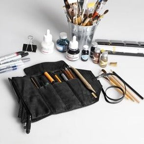 Rhodia Artist's Pencil and Brush Roll
