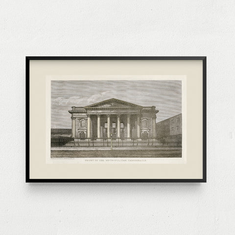 Tabernacle Church Mounted Print