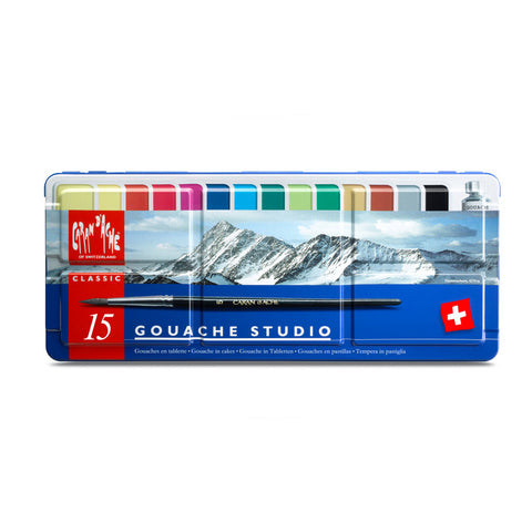 Caran D'Ache Gouache Pan Set (Special Offer)