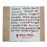 Khadi Hardback Sketchbook Smooth