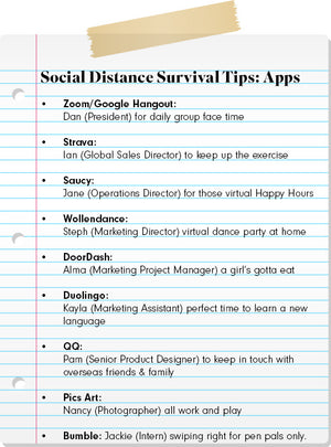 Social Distance Survival Tips: Day 2