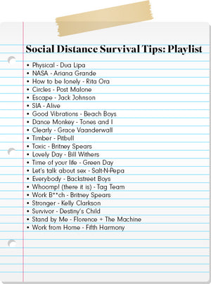 Social Distance Survival Tips: Day 1