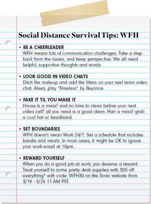 Social Distance Survival Tips: Day 3