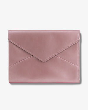"15"" Laptop Clutch- Barely Pink Laptop clutches"