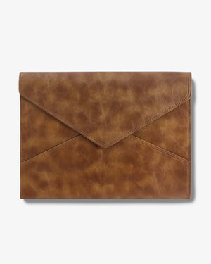 "15"" Laptop Clutch- Brandy Laptop clutches"