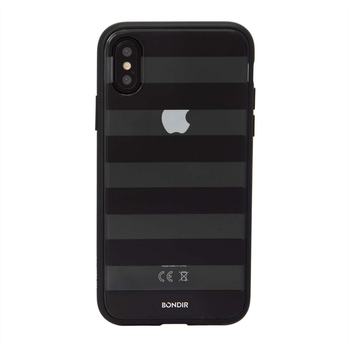 Black Stripe iPhone Case