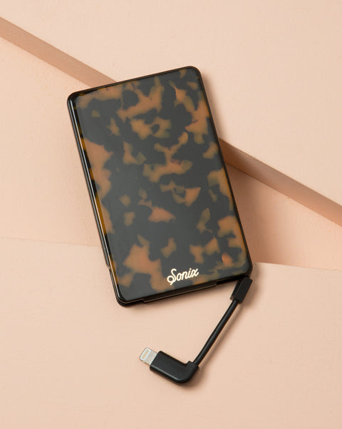 Brown Tort, Portable Charger