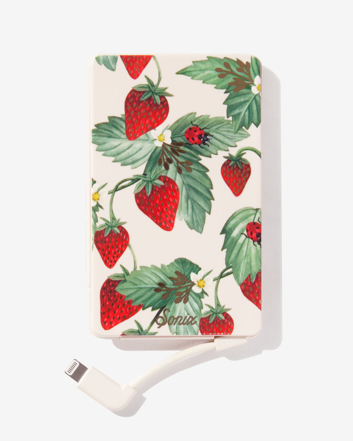 Fraise, Portable Charger