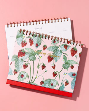 Weekly Desk Planner - Fraise Planners + calendars