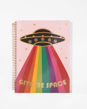 Spiral Notebook - Give Me Space Paper - ri