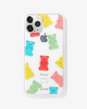 Rhinestone Gummy Bear iPhone Case Red